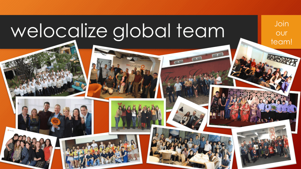 Welocalize Global Team